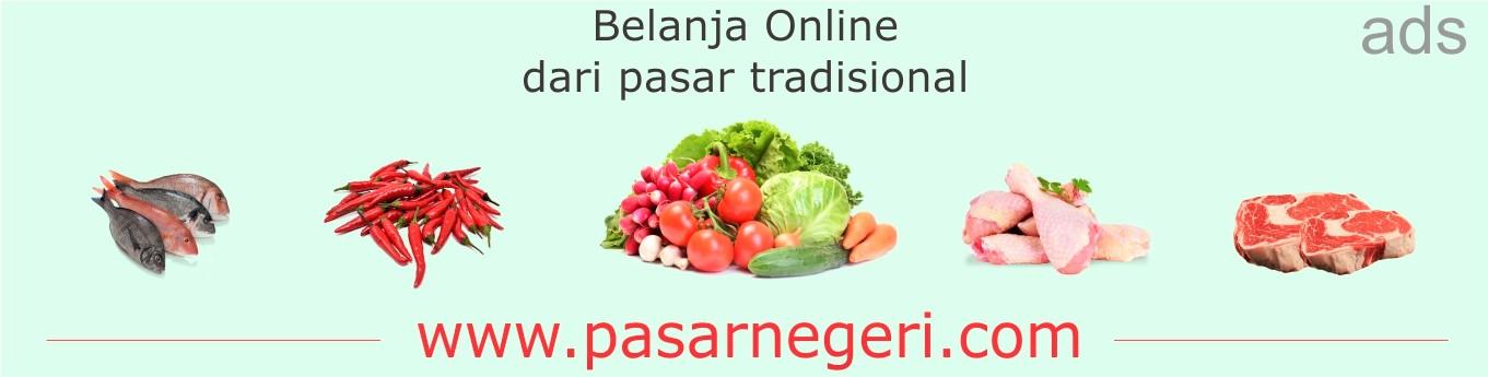 Belanja ONLINE dari pasar tradisional